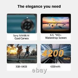 6.5'' Cubot Note 20 64GB Smartphone 4G Dual SIM Android 10 WIFI NFC Mobile Phone