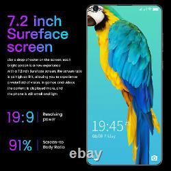 7.2 Inch Android Smartphone 4GB+64GB 10 Dual SIM 10-Core 5600mAh Mobile Phone US