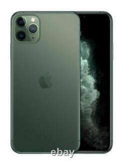 Apple Iphone 11 Pro Max A2161 64gb T-mobile Midnight Green Brand New