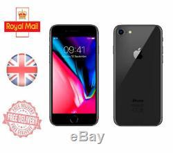 Apple Iphone 8 Unlocked Sim Free Mobile Phone 4G 64GB 128GB 256 GB All Colours