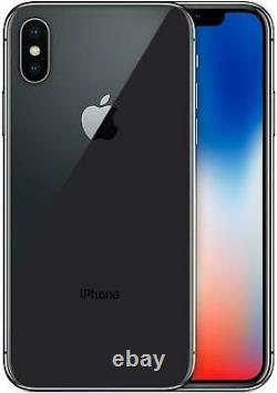 Apple Iphone X 256gb Space Gray A1865 Unlocked Verizon At&t T-mobile Fedex 2 Day