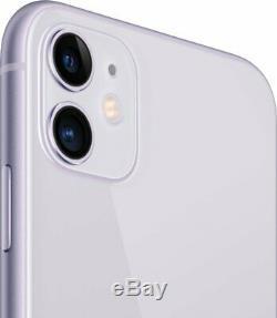 Apple iPhone 11 256GB Purple Verizon T-Mobile AT&T Fully Unlocked Smartphone