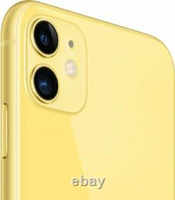 Apple iPhone 11 256GB Yellow Verizon T-Mobile AT&T Fully Unlocked Smartphone