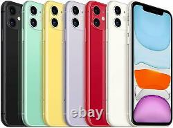 Apple iPhone 11 64GB 4G LTE GSM (T-Mobile/ Metro/ Ultra/ Mint) Smartphone A+