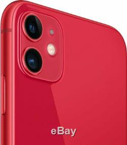 Apple iPhone 11 64GB Red Verizon T-Mobile AT&T Metro Fully Unlocked Smartphone