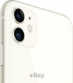 Apple iPhone 11 64GB White Verizon T-Mobile AT&T Metro Fully Unlocked Smartphone