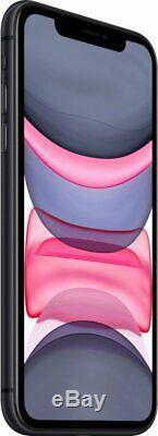 Apple iPhone 11 Black 64GB Verizon AT&T T-Mobile Fully Unlocked Smartphone