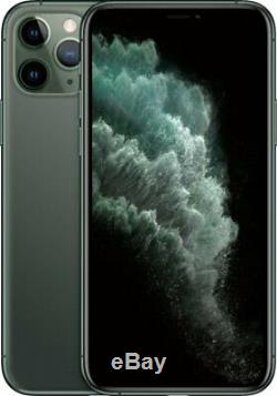 Apple iPhone 11 Pro 512GB Midnight Green Verizon T-Mobile Unlocked Smartphone