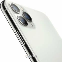Apple iPhone 11 Pro 512GB Silver Verizon AT&T T-Mobile Fully Unlocked Smartphone