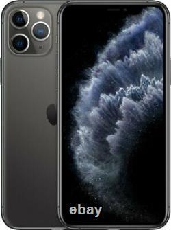 Apple iPhone 11 Pro 512GB Space Gray Verizon T-Mobile Fully Unlocked Smartphone