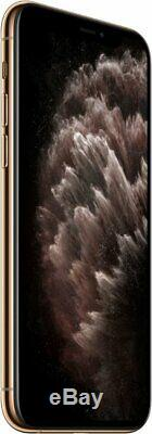 Apple iPhone 11 Pro Gold 512GB Verizon T-Mobile AT&T Fully Unlocked Smartphone