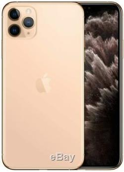 Apple iPhone 11 Pro Gold 64GB Verizon T-Mobile AT&T Fully Unlocked Smartphone