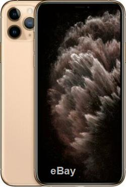Apple iPhone 11 Pro Max 512GB Gold Verizon T-Mobile AT&T Unlocked Smartphone