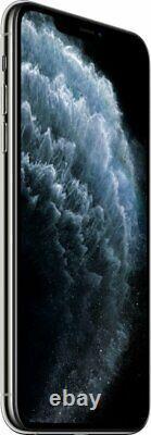 Apple iPhone 11 Pro Max 64GB Silver Verizon / T-Mobile Fully Unlocked Smartphone
