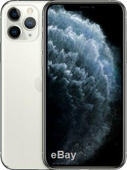 Apple iPhone 11 Pro Silver 64GB Verizon T-Mobile AT&T Fully Unlocked Smartphone