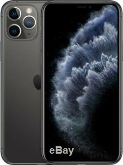 Apple iPhone 11 Pro Space Gray 64GB Verizon T-Mobile Fully Unlocked Smartphone