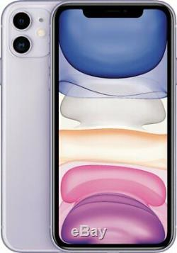 Apple iPhone 11 Purple 64GB Verizon AT&T T-Mobile Fully Unlocked Smartphone