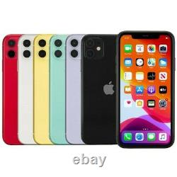 Apple iPhone 11 Smartphone 64GB 128GB AT&T Sprint T-Mobile Verizon or Unlocked