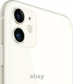 Apple iPhone 11 White 64GB Verizon AT&T T-Mobile Fully Unlocked Smartphone