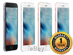 Apple iPhone 6S GSM Unlocked AT&T T-Mobile 64GB Smartphone 1 YEAR WARRANTY