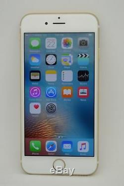Apple iPhone 6 128GB Gold UNLOCKED GSM AT&T T-MOBILE METRO PCS CRICKET H2O