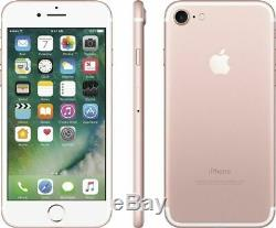 Apple iPhone 7 128GB Rose Gold Factory GSM Unlocked AT&T / T-Mobile Smartphone