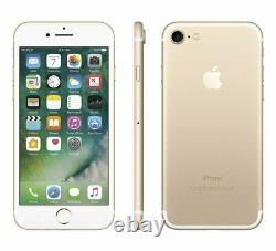 Apple iPhone 7 Gold 128GB Verizon AT&T T-Mobile Fully Unlocked Smartphone