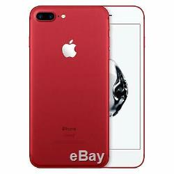 Apple iPhone 7 Plus 128GB Red Factory GSM Unlocked AT&T / T-Mobile Smartphone