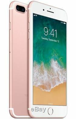Apple iPhone 7 Plus 128GB Rose Gold T-Mobile AT&T Metro GSM Unlocked Smartphone