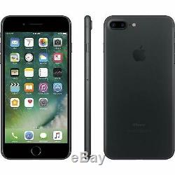 Apple iPhone 7 Plus 32GB Matte Black AT&T T-Mobile GSM Unlocked Smartphone