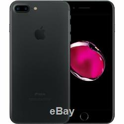 Apple iPhone 7 Plus 32GB Matte Black GSM Unlocked AT&T T-Mobile Smartphone