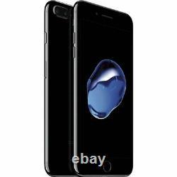 Apple iPhone 7 Plus Jet Black 128GB Verizon T-Mobile AT&T Unlocked Smartphone