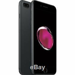 Apple iPhone 7 Plus Matte Black 256GB T-Mobile AT&T Metro Unlocked Smartphon