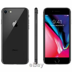 Apple iPhone 8 256GB 64GB (Factory GSM Unlocked AT&T / T-Mobile) All Colors