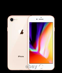 Apple iPhone 8 64GB 4G LTE (Factory Unlocked) AT&T, T-Mobile. Smartphone SRB