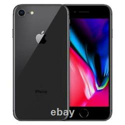 Apple iPhone 8 64GB Factory Unlocked AT&T T-Mobile Gray Smartphone