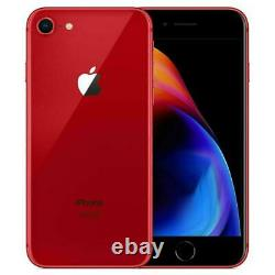 Apple iPhone 8 64GB Factory Unlocked AT&T T-Mobile Red Smartphone