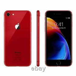 Apple iPhone 8 64GB Fully Unlocked (GSM+CDMA) AT&T T-Mobile Verizon Red