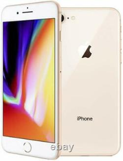 Apple iPhone 8 64GB Gold Factory Verizon T-Mobile AT&T Unlocked Smartphone