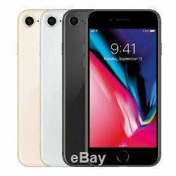 Apple iPhone 8, 8 Plus 64GB 256GB GSM AT&T T-Mobile Sprint Unlocked Smartphone U