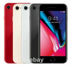Apple iPhone 8 GSM Factory Unlocked T-Mobile at&t Metro PCS 256GB 128GB 64GB