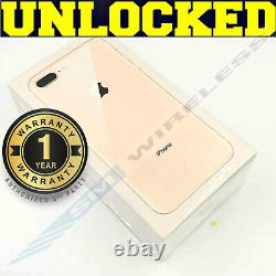 Apple iPhone 8 PLUS 256GB GOLD WHITE (GSM UNLOCKED) AT&T T-MOBILE SEALEDW