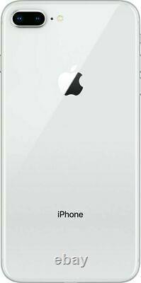 Apple iPhone 8 Plus 256GB Fully Unlocked (GSM+CDMA) AT&T T-Mobile Verizon Silver