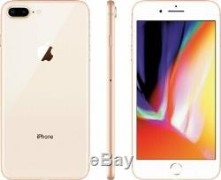 Apple iPhone 8 Plus 64GB (Factory GSM Unlocked AT&T / T-Mobile) Smartphone