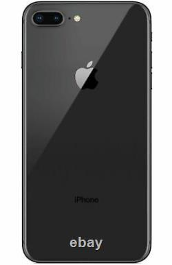 Apple iPhone 8 Plus 64GB Fully Unlocked (GSM+CDMA) AT&T T-Mobile Verizon Black