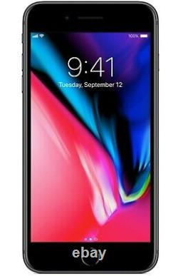 Apple iPhone 8 Plus 64GB GSM Unlocked AT&T T-Mobile Gray Smartphone