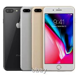 Apple iPhone 8 Plus 64GB (GSM Unlocked) AT&T T-Mobile Mint Mobile Smartphone SRB