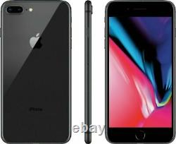 Apple iPhone 8 Plus 64GB GSM Unlocked (GSM) AT&T T-Mobile Black