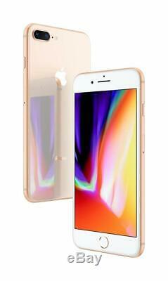 Apple iPhone 8 Plus 64GB Gold T-Mobile AT&T Factory GSM Unlocked Smartphone