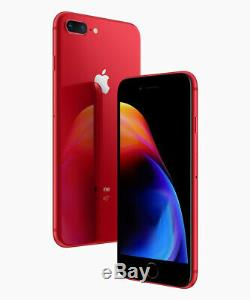 Apple iPhone 8 Plus 64GB Red GSM Unlocked (AT&T / T-Mobile) Smartphone
